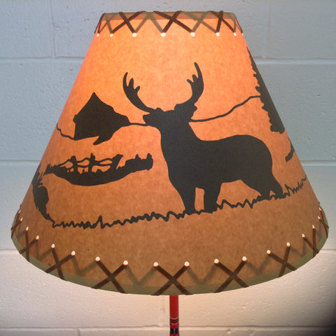"16"" Diameter Deer Lamp Shade"