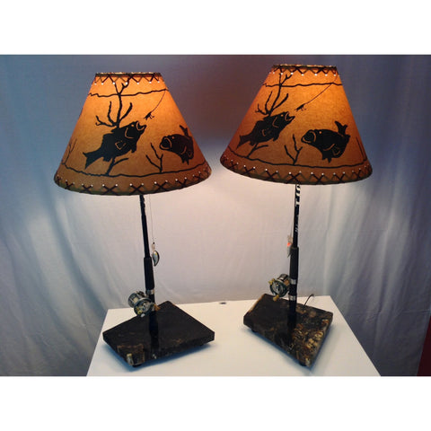 Pair of Table Lamps #1341/#1342