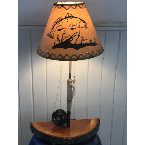 Fly Reel Night Stand Lamp #1590