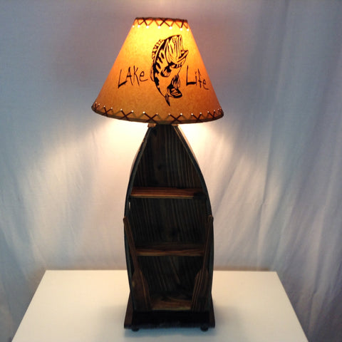 Row Boat Table Lamp #1393