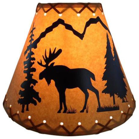 Moose Lamp Shade