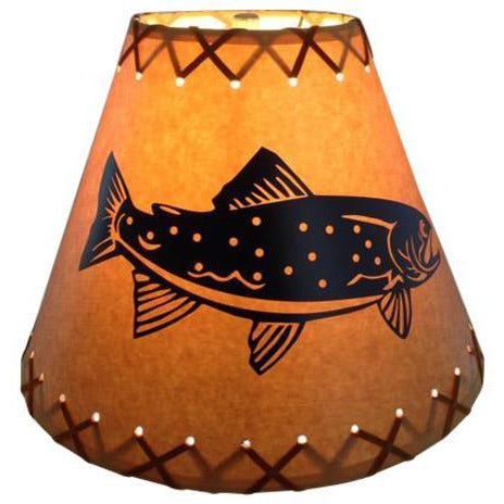 Trout Lamp Shade