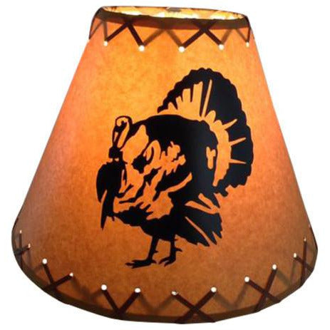 Turkey Lamp Shade