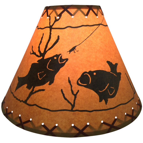 Two Bass Lamp Shade