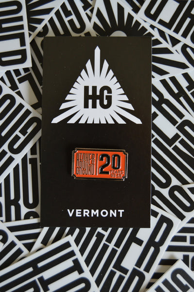 HG 20th Anniversary Ticket Pin