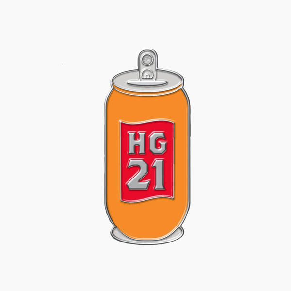 HG 21st Birthday Beer Can Pin