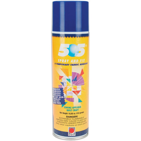 Odif USA - 505 Spray and Fix Temporary Fabric Adhesive - 10.93 oz Cans