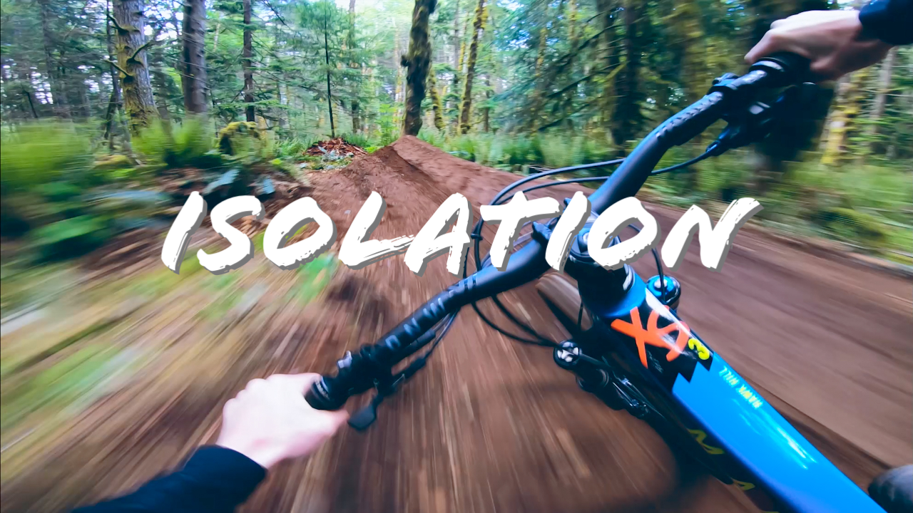 Trail Building With Mark Matthews in Isolation