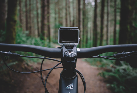 INTRODUCING THE RANGE STEM W/ GOPRO OR GARMIN MOUNT