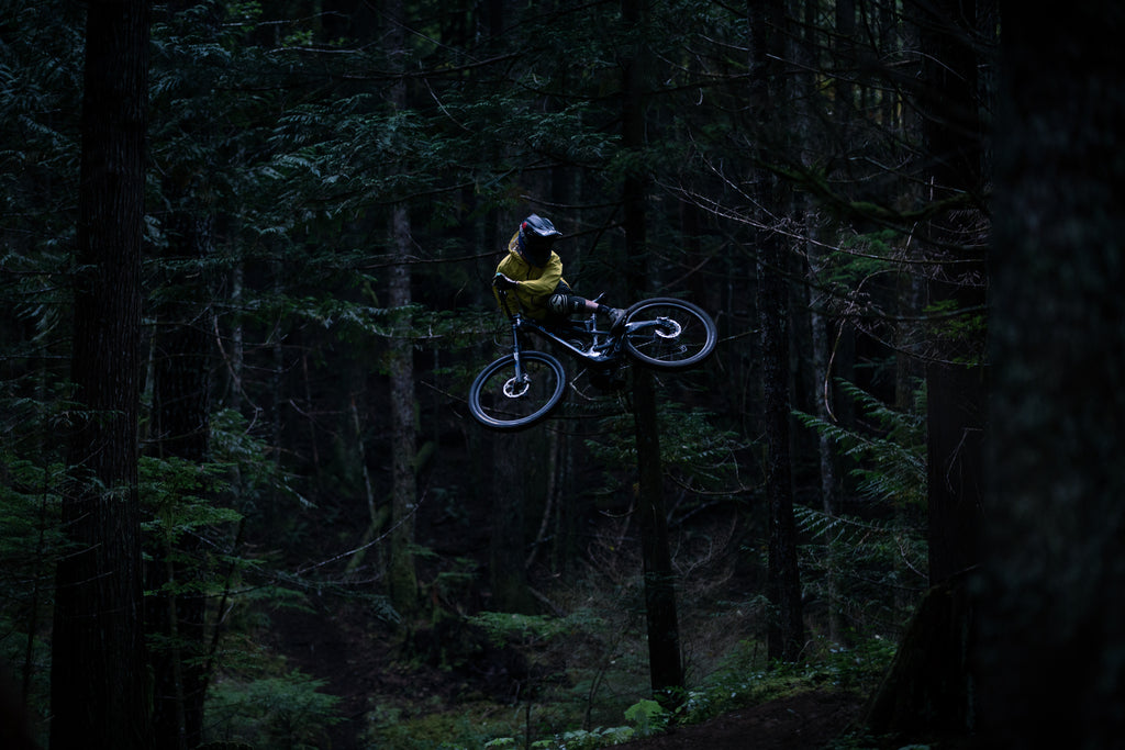Mark Matthews filming with PNW Components for Rainy Daze
