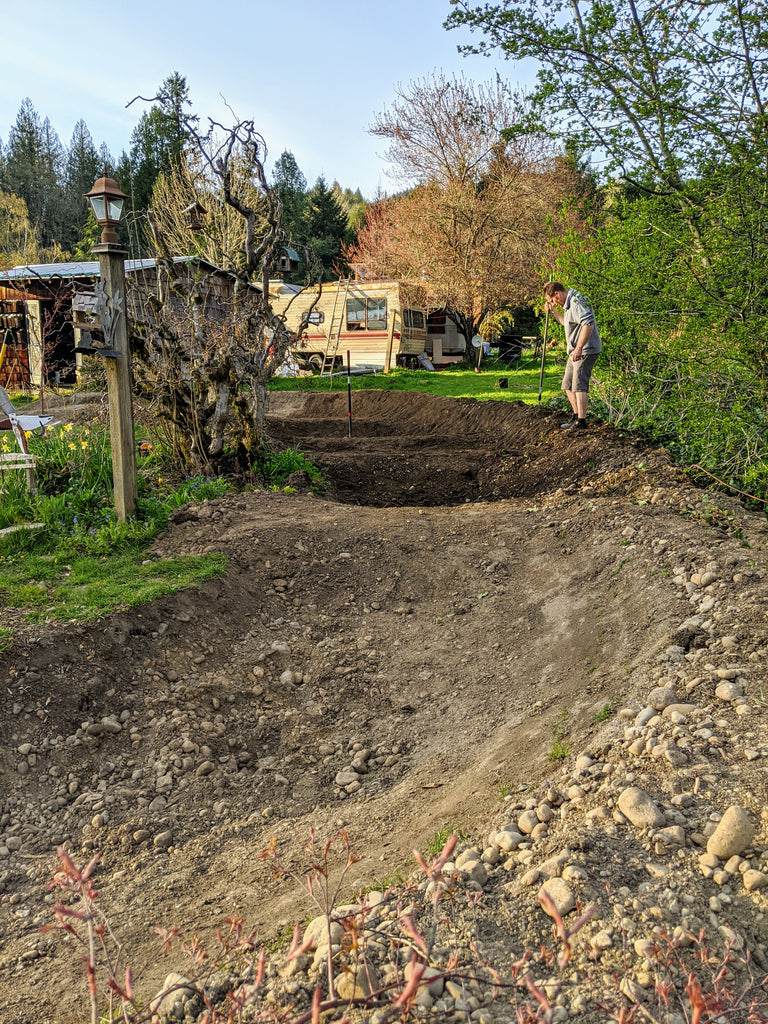 Building a Pump Track with PNW Components Squad Member Delia Massey