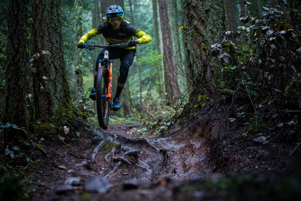 PNW Components Squad Member Cody Kelley Rides Chuckanut in Bellingham Washington