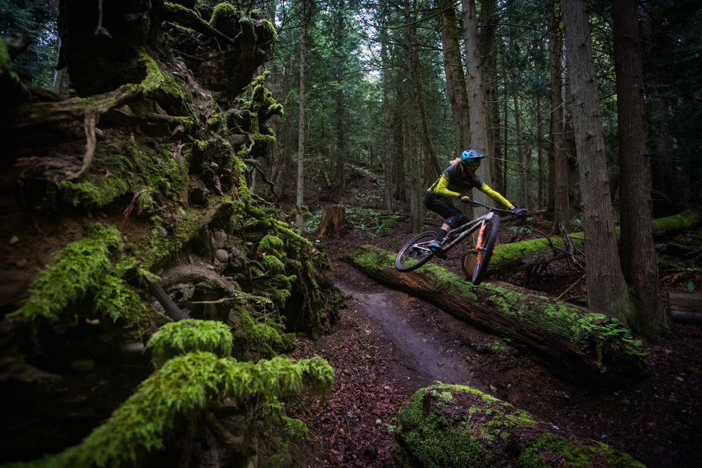 PNW Components Squad Member Cody Kelley Rides Chuckanut Mountain Bike Trails in Bellingham Washington