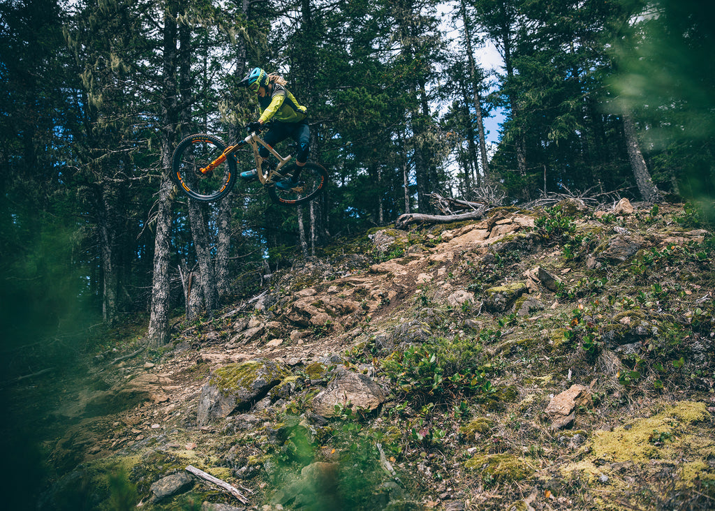 PNW Squad Member Cody Kelley Rides Orcas Island Mt Constitution Trails
