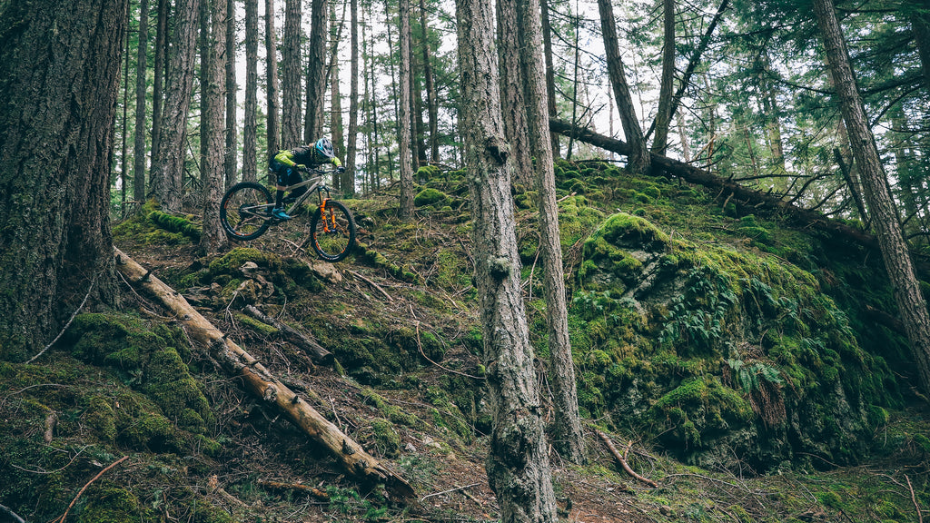 PNW Components Squad Member Cody Kelley Rides the Orcas Island Mountain Bike Trails