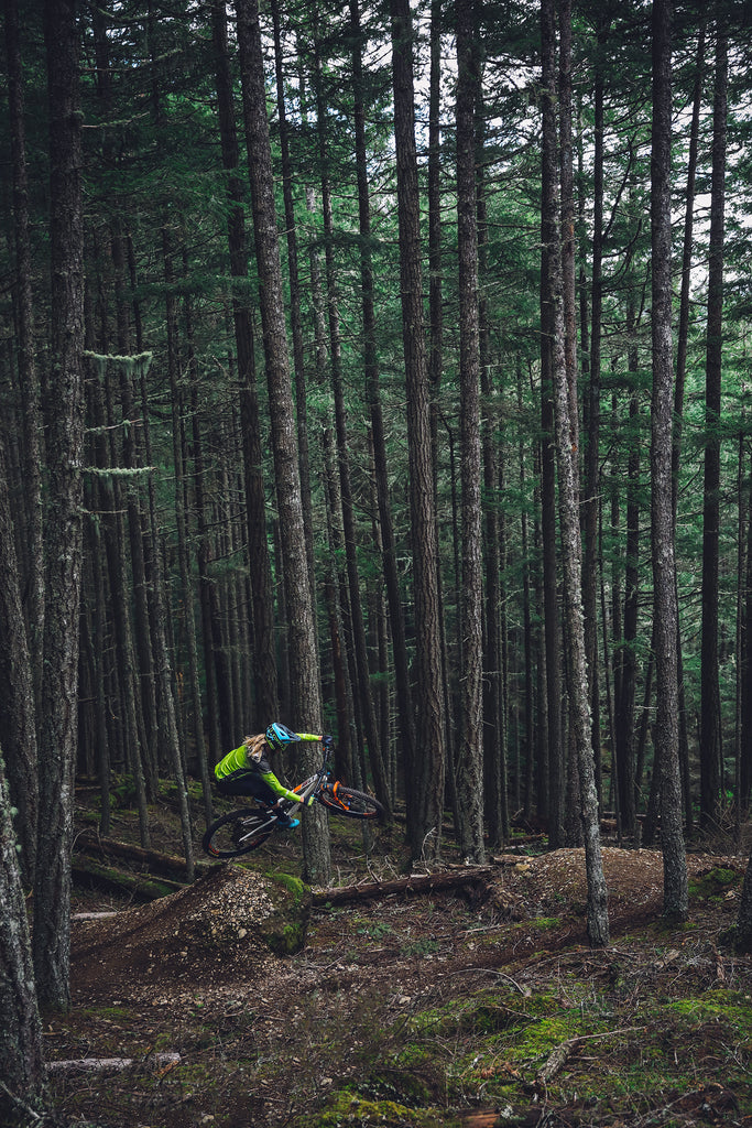 PNW Components Squad Member Cody Kelley Rides the Mountain Bike Trails on Orcas Island