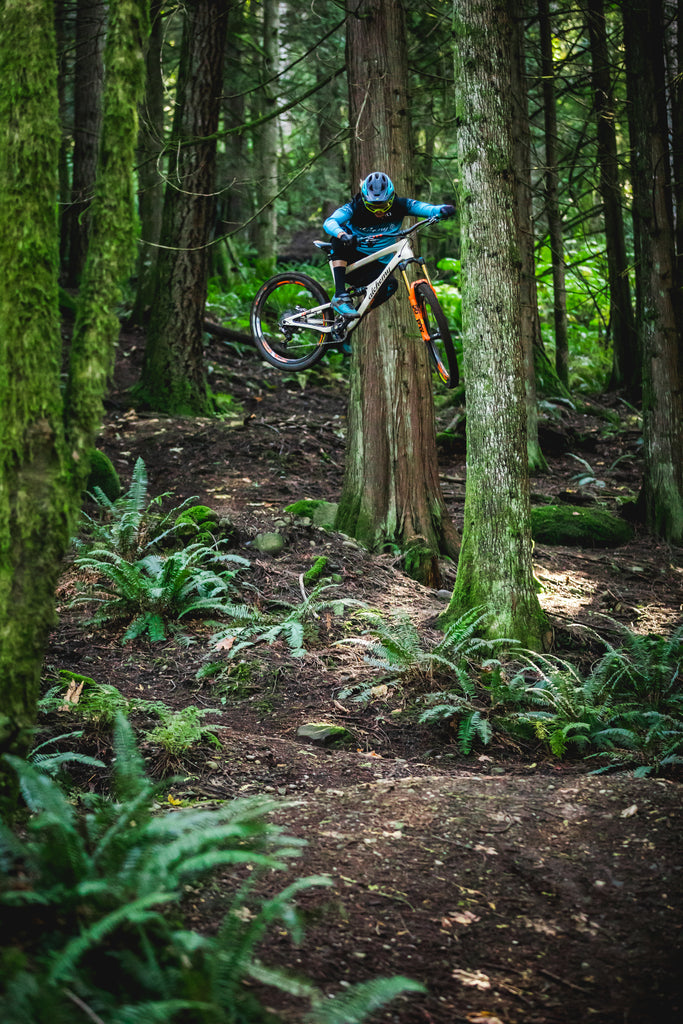 Cody Kelley filming with PNW Components for The Gloam Season