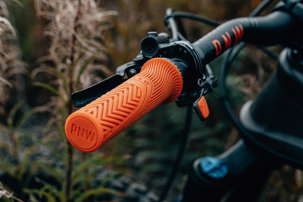PNW Components Loam Grips in Orange