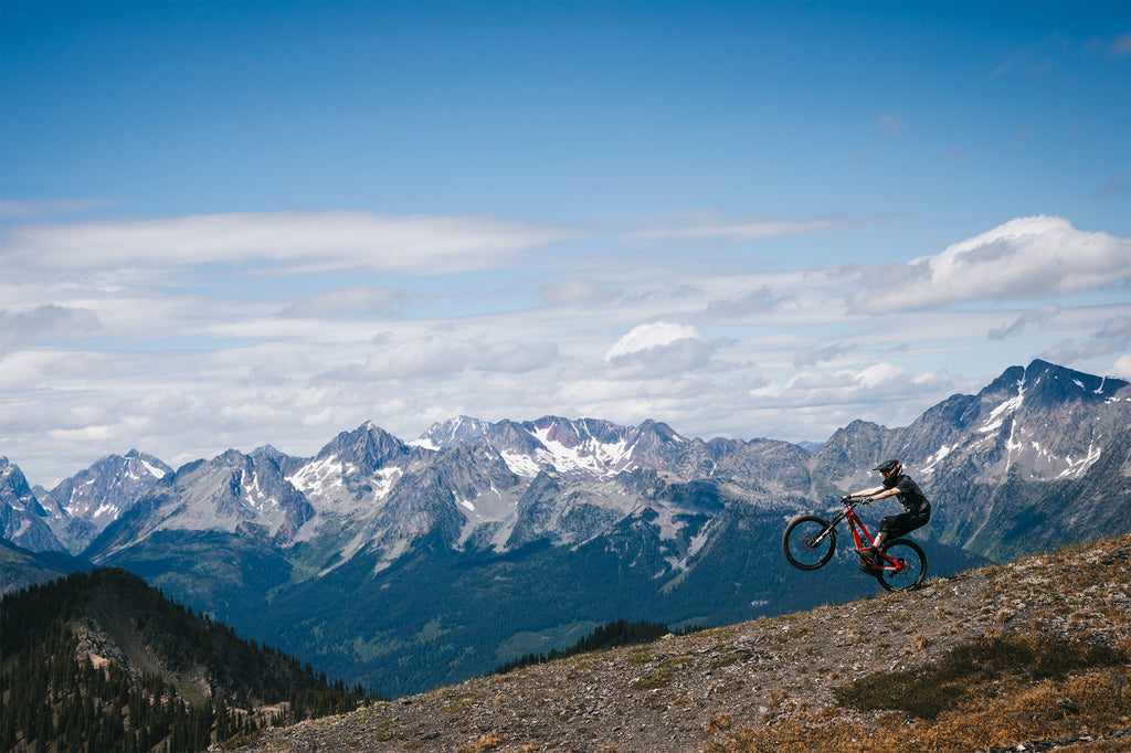 PNW Components Visits Retallack Lodge for Backcountry Mountain Biking with Kyle Warner