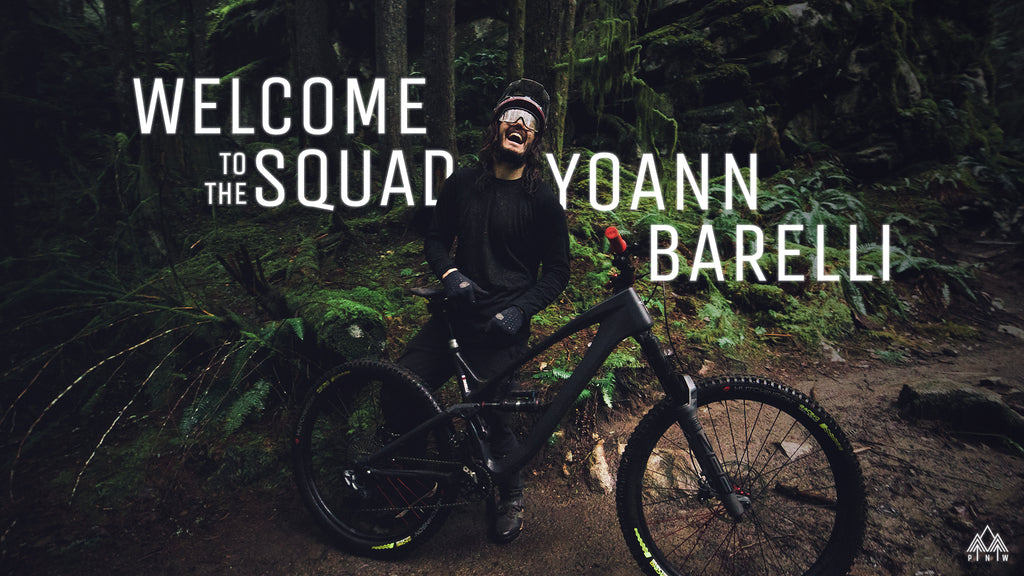 PNW Components welcomes Yoann Barelli to the PNW Squad