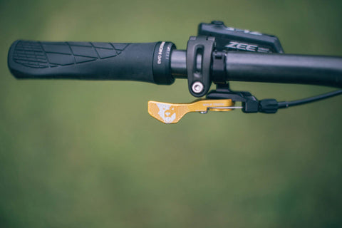 BIKEPACKING.com Artisan Alloy Dropper Post Lever Shootout PNW Components Loam Lever Wolftooth