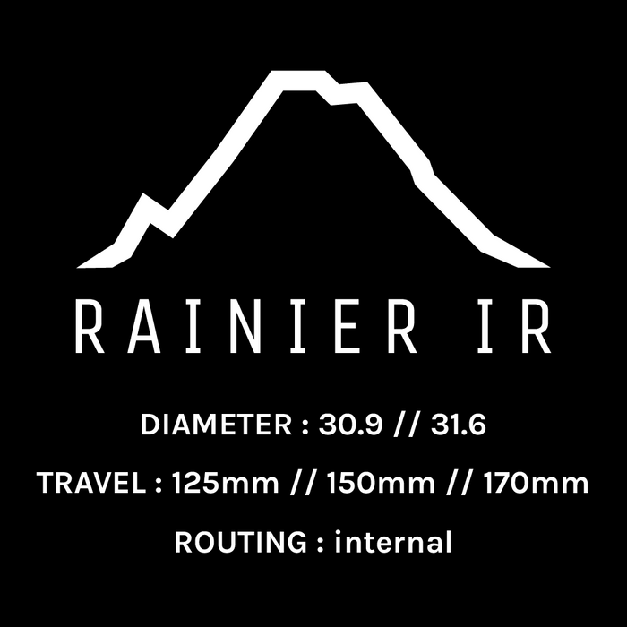 RAINIER IR DROPPER POST