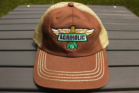Brown Logo Cap