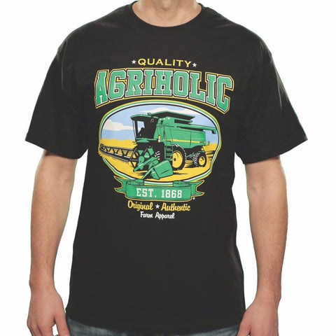 Combine - Bean/Wheat Green - Black T-Shirt