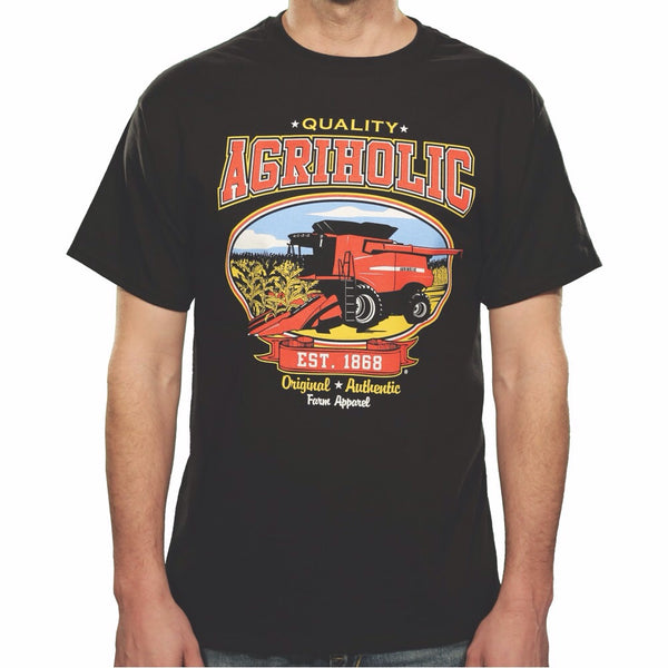 Combine - Corn Red - Black T-Shirt