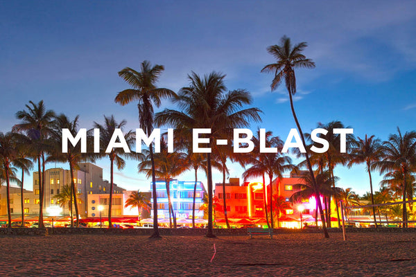 Miami E-Blast Monthly Package