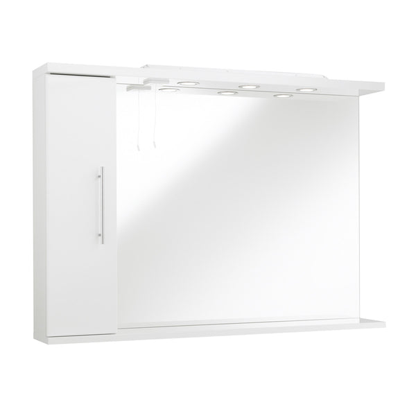 Impakt Mirror With Side Cabinet & Lights