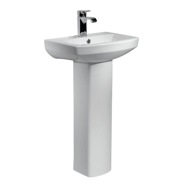 Aspect 460mm 1TH Basin & Pedestal