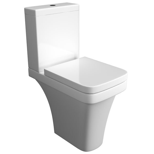Sicily Comfort Height Close Coupled WC