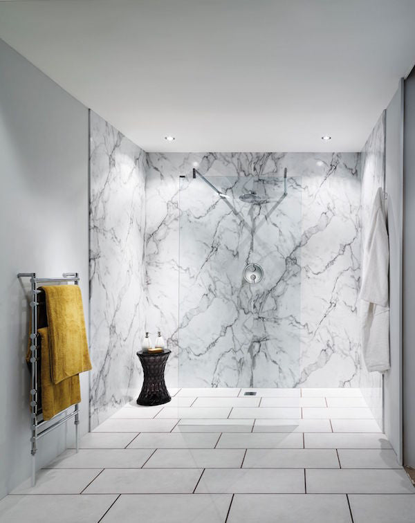 Calacatta Marble Bathroom Wall Panel