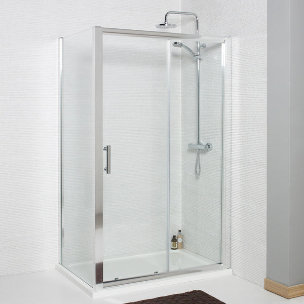 Koncept Sliding Door Shower Enclosure