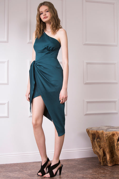 SASHA ONE SHOULDER DRESS