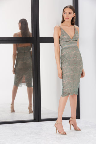GALENA SLIP DRESS