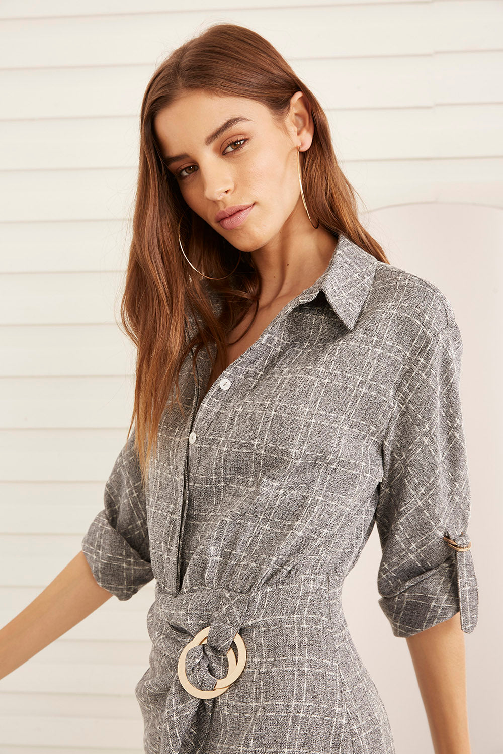 EDWINA SHIRT DRESS
