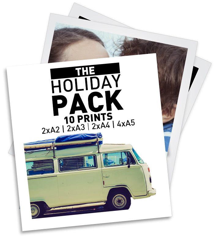 HOLIDAY PACK - 10 PRINTS | 2xA2 | 2xA3 | 2xA4 | 4xA5