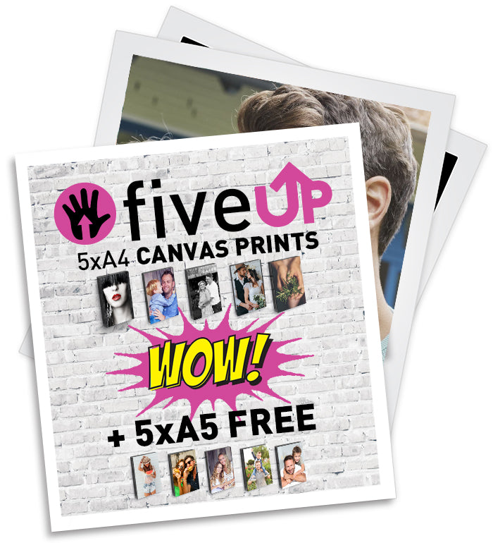 FIVE UP | 5xA4 [+5xA5 FREE]