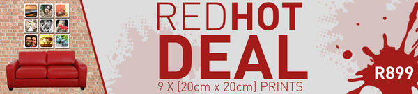RED HOT DEAL - 9 x [20cm x 20cm]