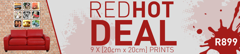 RED HOT DEAL | 9x(200x200) [+4xA4 FREE & SELFIE STICK]