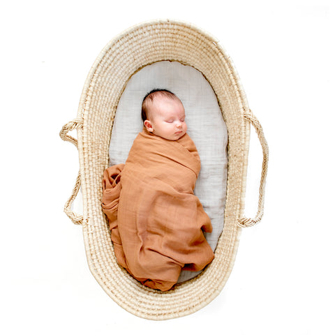 Essentials Wrap - Tawny Brown