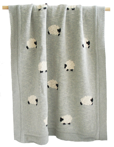 Baa Baa Blanket - Grey