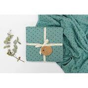 Burrow and Be Cot Blanket - Ocean Cross