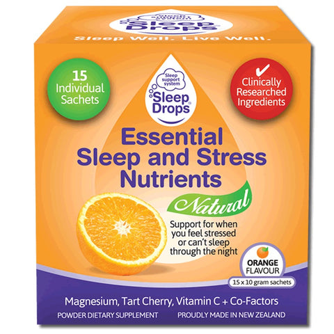 Sleep Drops Essential Stress and Sleep Nutrients