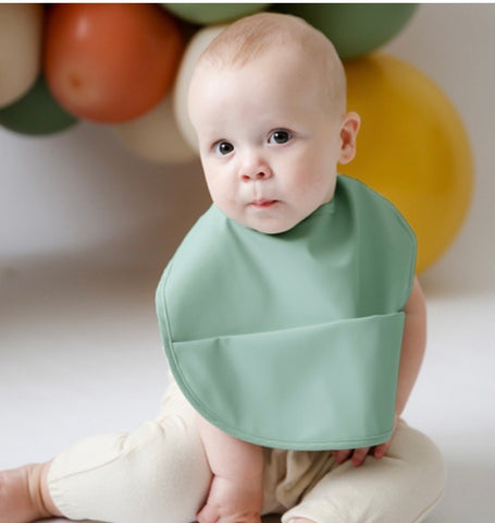 Sage - Snuggle Waterproof Bib