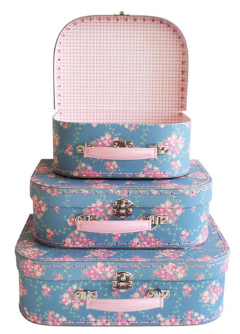 Wildflower suitcase set of 3