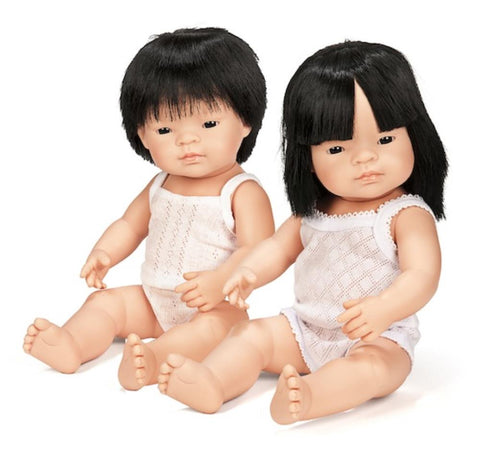 Miniland Asian 38cm Girl