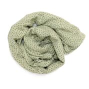 Burrow and Be Muslin Wrap - Sage Dash